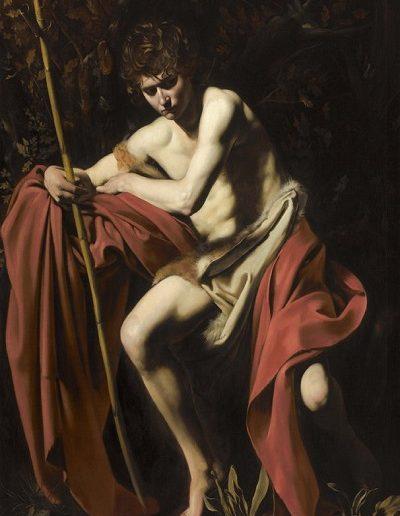 Juan Bautista -Caravaggio (1604)