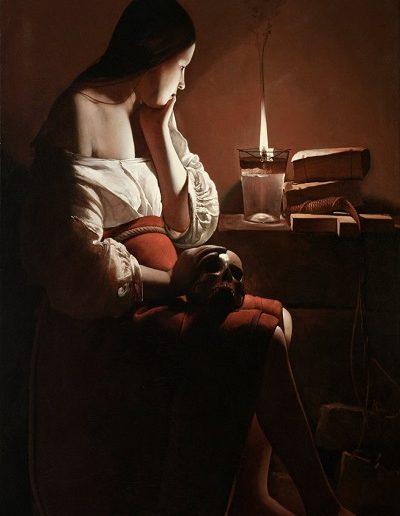 Magdalena- G. La Tour (1644)