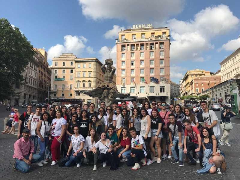 Viaje fin de curso a Roma y Florencia