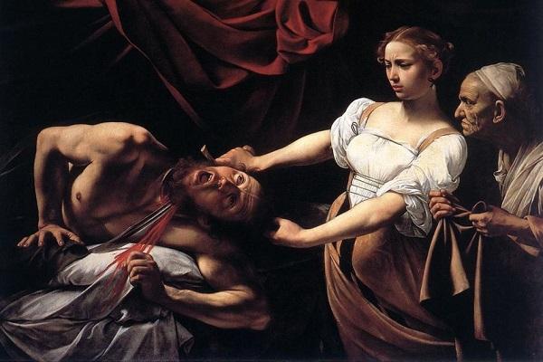 Judith y Holofernes- Caravaggio (1599)